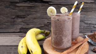 A legfinomabb kakaós-banános shake – tej-, cukor- és gluténmentesen