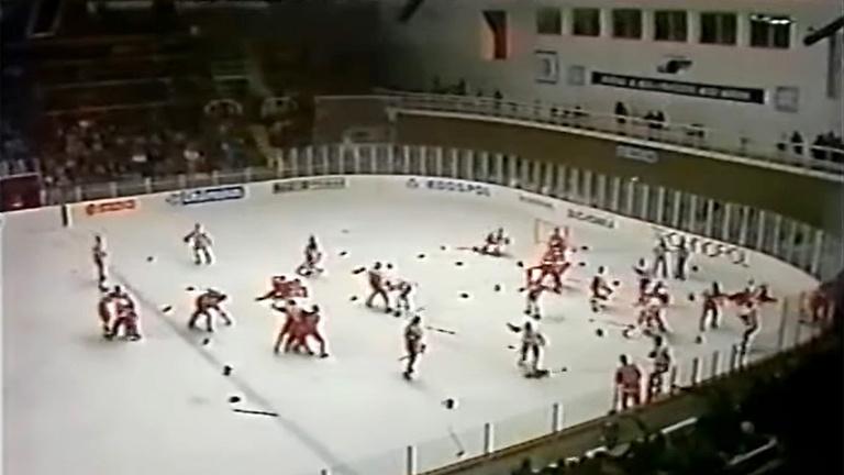 Szovjet-kanadai háború a jégen: a legnagyobb hokibunyó története
