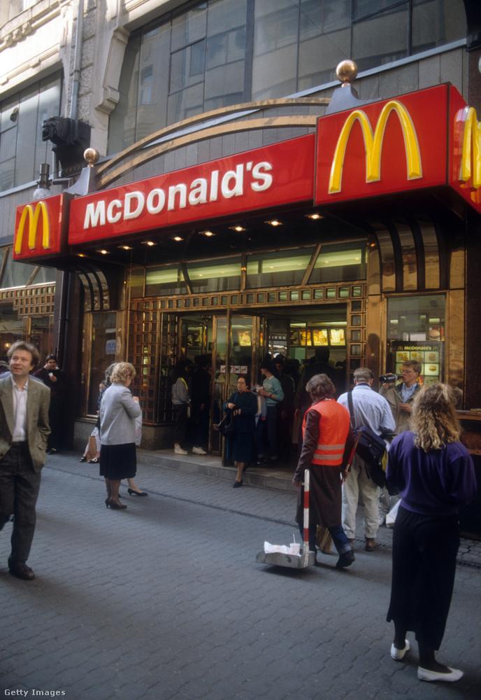 1990 nyarán két külföldi fotós is járt Budapesten, akiknek a képei ma a Getty archívumán keresztül elérhetők