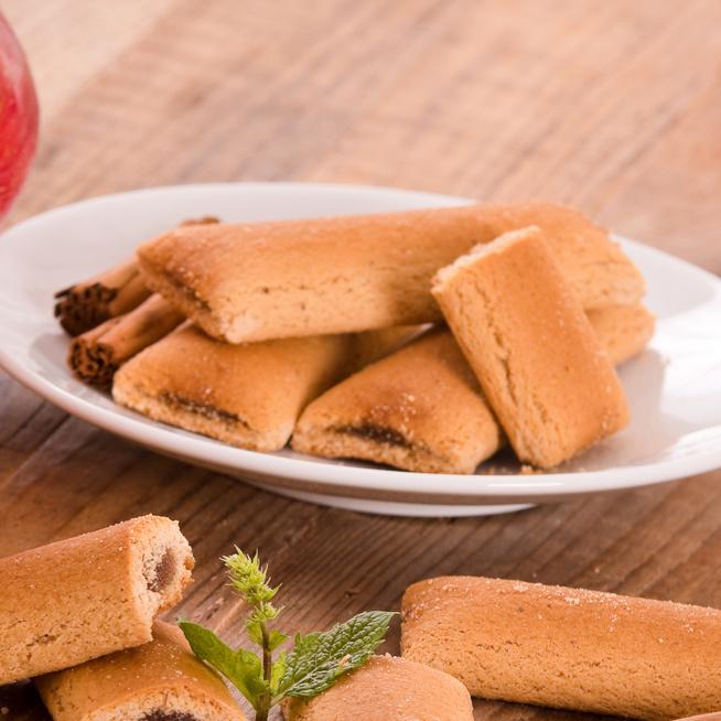 Puha almás-fahéjas vajas keksz – Már az első harapásnál elolvad a szájban