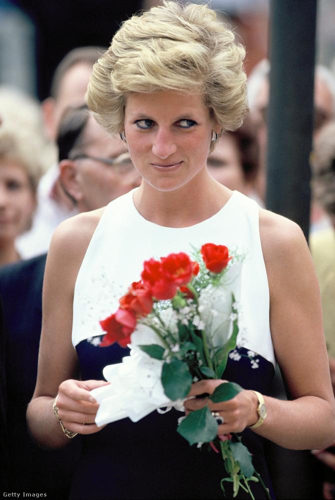 Diana hercegnő 1990
