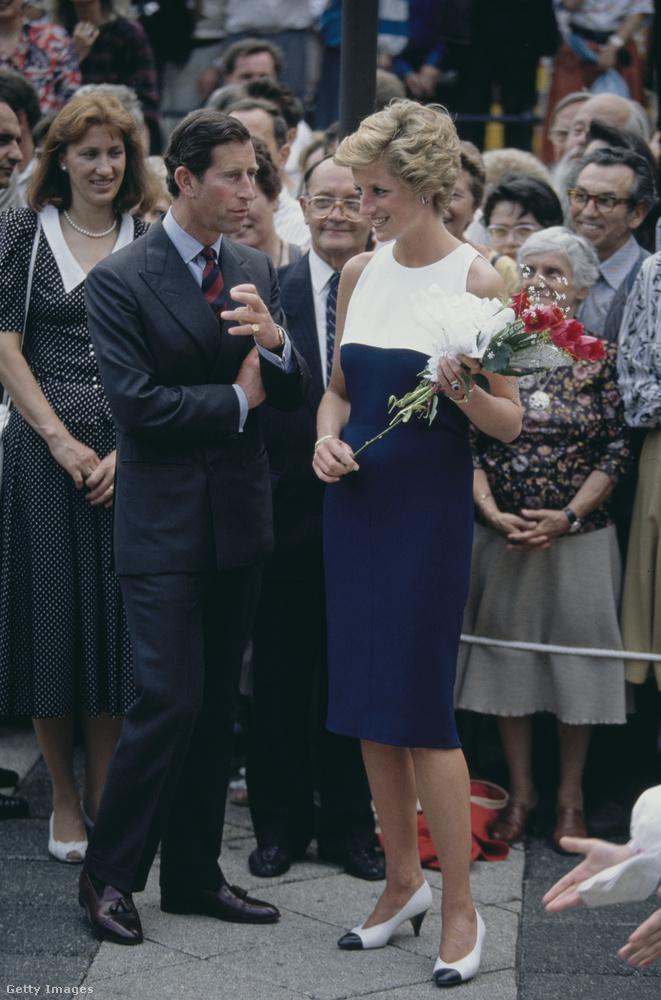 Kerek 30 éve volt, hogy Károly herceg és akkori felesége, Diana hercegné Budapestre látogattak