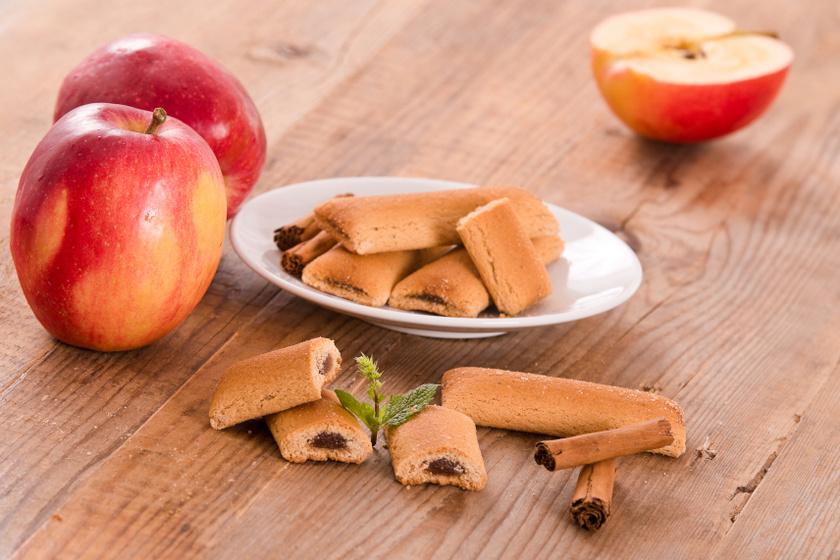 fahéjas almás vajas keksz recept