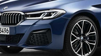 Ez lehet az új 5-ös BMW