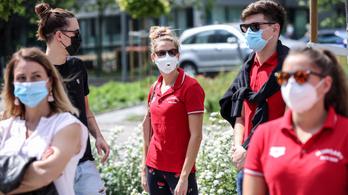 290 magyar élsportolóból 29 átesett a koronavírus-fertőzésen