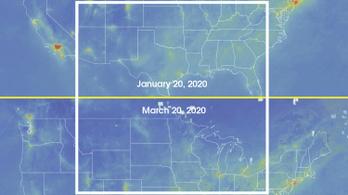 Drasztikusan csökkent Amerika szén-dioxid-kibocsátása a járvány miatt