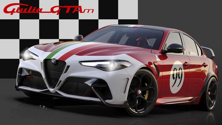 Színes lesz, és méregdrága az Alfa Romeo csúcsmodell