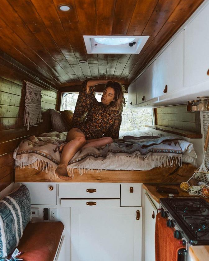 Például ez a helytakarékos ágy