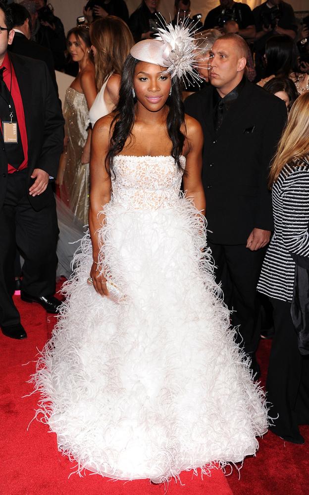Serena Williams 2011-ben remekelt ebben a ruhaszörnyben