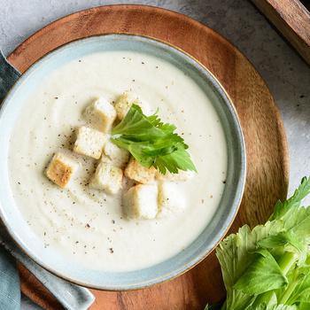 Selymes, tejszínes karalábé-krémleves - Ha eddig nem szeretted, így imádni fogod