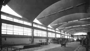 A magyar ipar betonkatedrálisai – Haba Péter könyve ipari építészetünk legendás 25 évéről