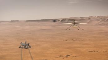 Leleményes kis helikoptert küld a Marsra a NASA