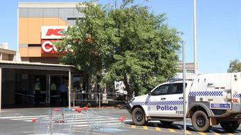 Lelőttek a rendőrök egy késes támadót Ausztráliában