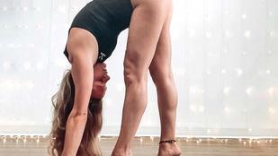 Lindsey, az amerikai jógatanárnő állítja, hogy jógázás nélkül a szex nem lehet az igazi