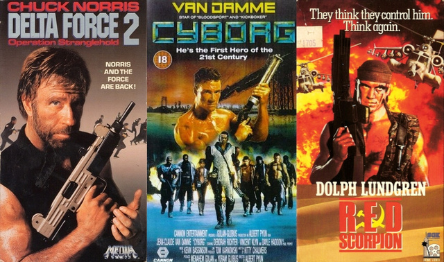 VHS-ikonok bevetésre készen