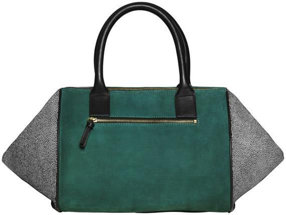 Ez csak egy H&M táska, de szép. Zimánynak is tetszik, csak nagyon emlékezteti egy Céline táskára.