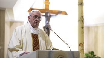 Ferenc pápa: Ma sokan rabszolgaként dolgoznak