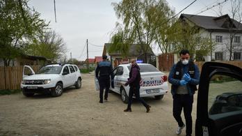 Vesztegzár alatt a romániai Rév romatelepe