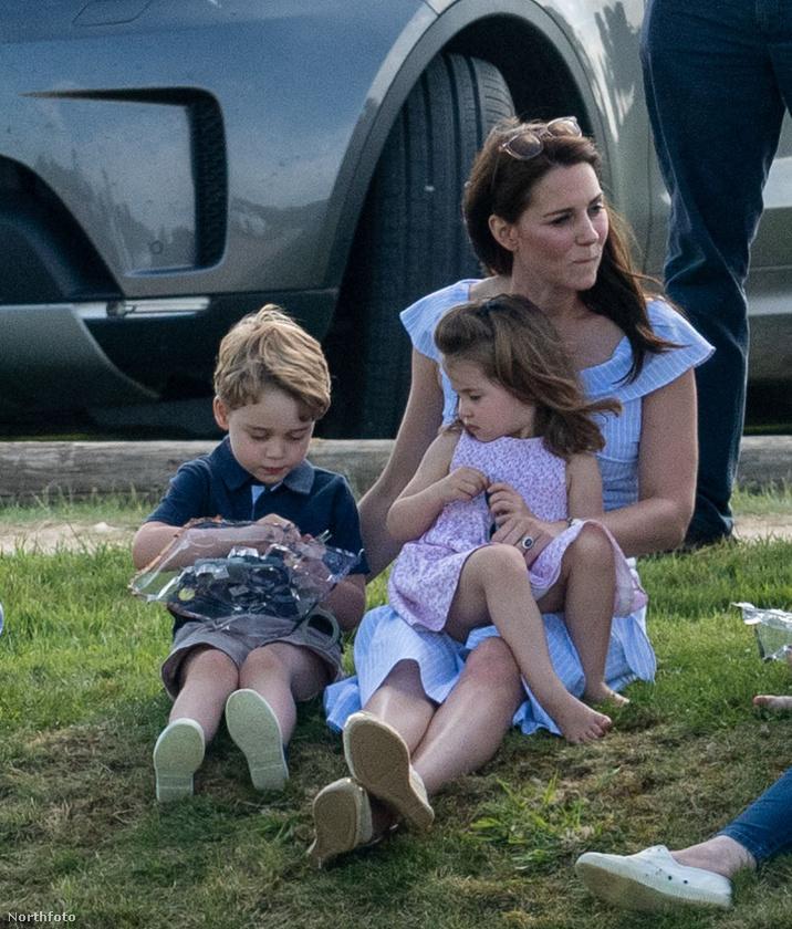 2018 júniusa: a királyi család tagjainak talán az igényeltnél is több figyelem jut a sajtó részéről, de ezen a képen tényleg egy átlagos, a parkban pihenő családnak tűnnek