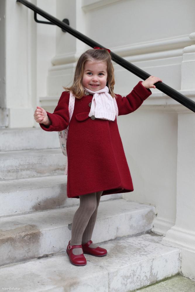 Ezeket a fotókat is Katalin hercegné készítette róla.
