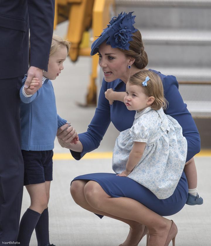 Szeptemberben pedig már testvérével, György herceggel együtt kísérhették el szüleiket kanadai diplomáciai útjukra