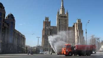 9 ezernél is több új megbetegedést regisztráltak Oroszországban 24 óra alatt