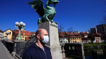 Horvátországban és Szlovéniában egyszámjegyű az új esetek száma