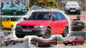 Az én autóm: Opel Astra F 1,4 Si – 1995.