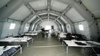 New Yorkban bezártak a tábori kórházak