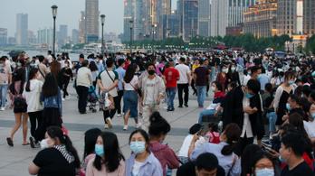 Több mint egymillió turista özönlött Sanghajba a hétvégén