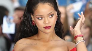 Jócsajszüret: Rihanna ismét fehérneműt promotál, Nina Adgal toplessre váltott