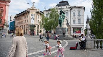 Szlovéniában egyetlen új fertőzést sem regisztráltak