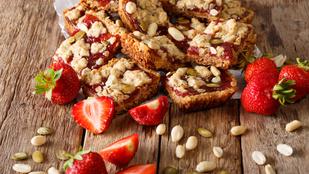 Zabszelet házilag, eperrel: glutén-, tej-, tojás- és cukormentes recept