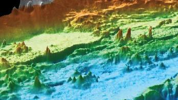 Hidrotermális kürtők egész erdejét fedezték fel a Csendes-óceánban