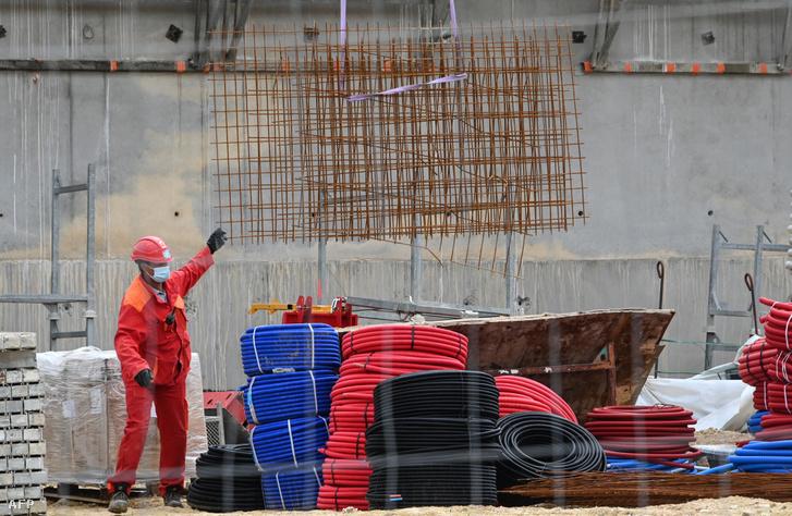 Az építőipar március végéig nem érezte meg a járványt