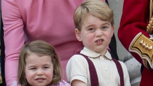 Ezeket a szigorú szabályokat kell követnie Sarolta hercegnőnek és György hercegnek