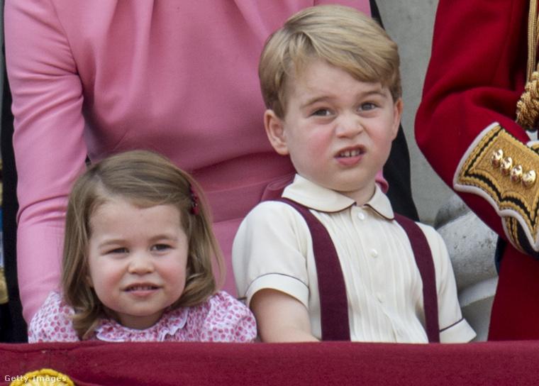 Sarolta hercegnő és György herceg egyik hivatalos szereplésükkor