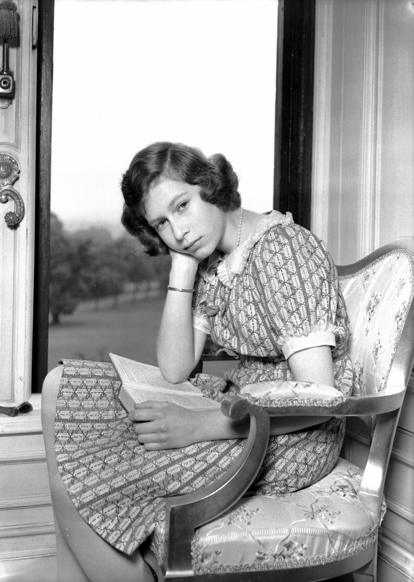 Ez a fotó 1940-ben készült a királynőről.