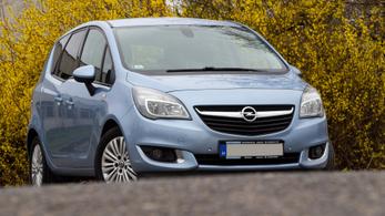 Használtteszt: Opel Meriva 1,4 Turbo – 2014.