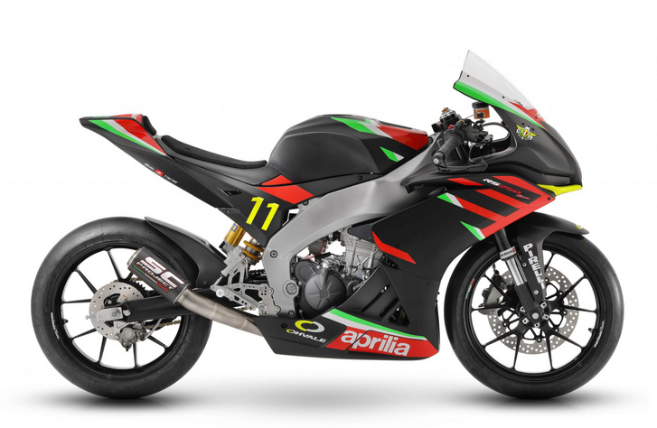 Totalbike - Hírek - Aprilia RS 250 SP: versenymotor gyárilag