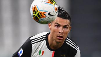 Visszatért Olaszországba Cristiano Ronaldo, hogy megkezdje az edzéseket