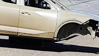 Lebukott a Hyundai pickupja