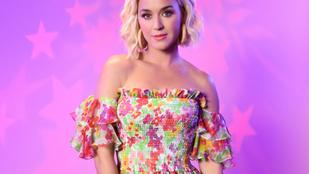 Katy Perrynek méhen belülről intett be a lánya