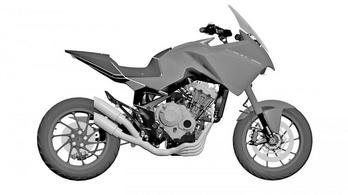Akár gyártásba is kerülhet a Honda CB4X