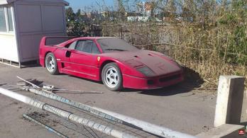 Mi történt az iraki diktátor fiának elveszett Ferrari F40-ével?
