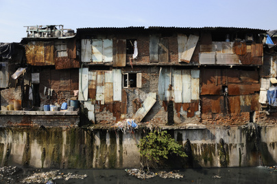 daravi, india, mumbai nyomornegyed