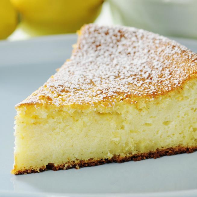 Puha citromos sütemény ricottával – Ebéd után tökéletes desszert