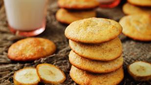 Banános keksz 4 hozzávalóból: glutén-, tej-, tojás- és cukormentes recept