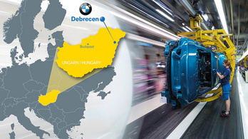 Mégsem csúszik a debreceni BMW-gyár építése?