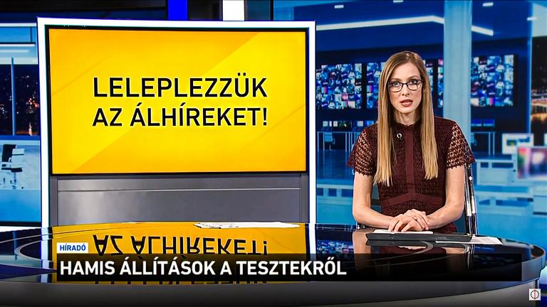 Fake newsból lett a járványügyi csodafegyver